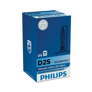 Philips D2S 35W White Vision 6000K Gen2