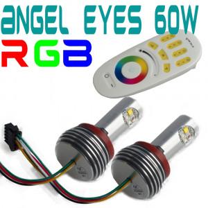 H8 BMW angel eyes RGB 60W