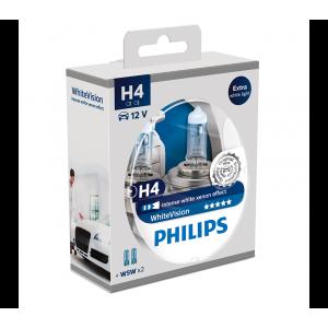 Philips WhiteVision Xenon Effect strålkastarlampor H4