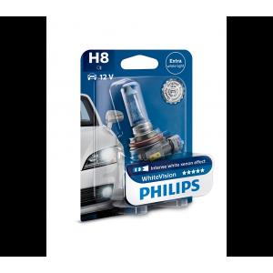 Philips WhiteVision Xenon Effect strålkastarlampor H8