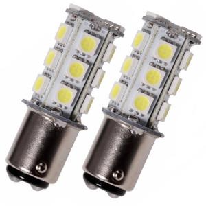 Led diod lampa BA15d Xenonvit 2-pack