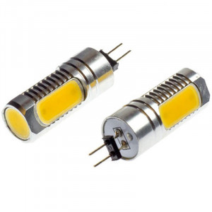 Led diod lampa AC/DC G4 COB 6W Varmvit