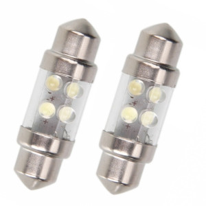Led Spollampa - Festoon SV8,5 C5W 4 st led 31mm
