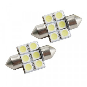 Led spollampa - Festoon  c5w SV8.5 31 mm 6 smd 2-pack Xenonvit