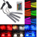 LED RGB  Atmosphere innerbelysning 4-pack