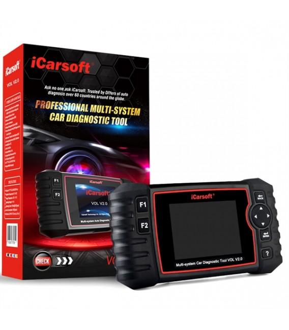 iCARSOFT VOL V2.0 Volvo & SAAB OBD2 felkodsläsare