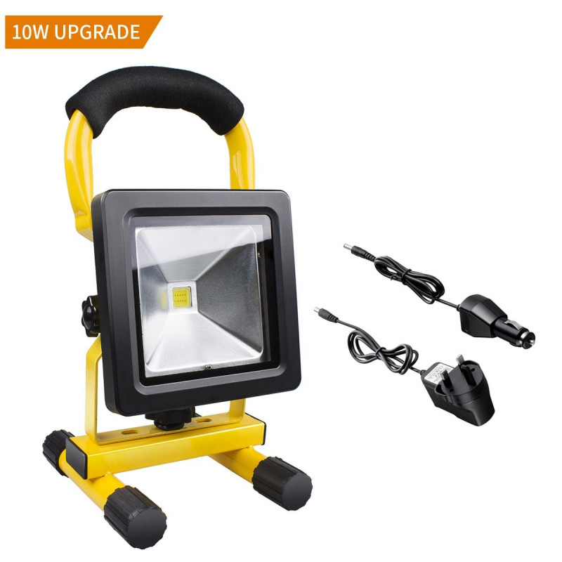 Berömda LED Arbetslampa 10W med uppladdningsbart batteri SS-45