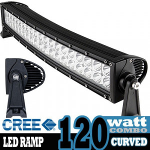 LED ramp Curved CREE XB-D 120W Combo