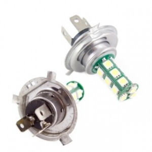 Dimljuslampa led 18 SMD H4 AC
