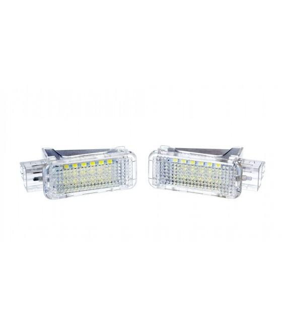 Led belysning Audi/VW/Skoda Dörr, bagageutrymme
