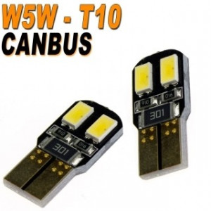 Led diod lampa W5W - T10 4st 5630 SMD canbus 2-pack