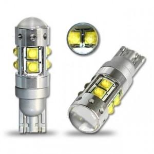 Led diodlampa LED T10 - W5W 50W cree