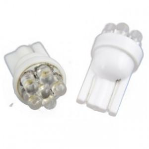 Led Diodlampa W5W - T10 7 LED 2-pack