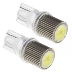 Led Diodlampa T10 W5W 1W Highpower 6-chip 2-pack
