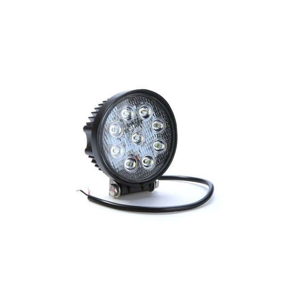 LED Arbetsbelysning / Backljus 27W Rund modell