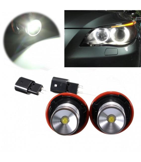 BMW LED Angel Eyes Halo Light ringar 5W för E39 E60 E63 E64 E53 X5