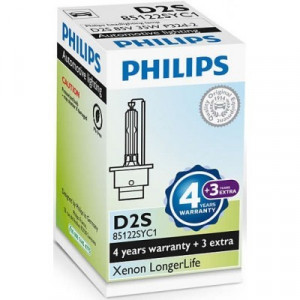 Philips D2S 35W longer life 7 års garanti