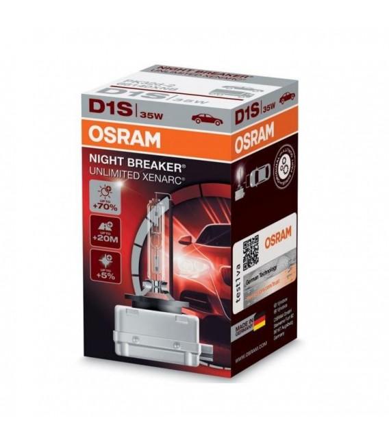 D1S 35W Osram Xenonlampa- Gasurladdningslampa Night Breaker UNLIMITED Xenarc