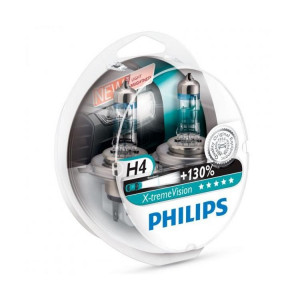 Philips X-tremeVision+ H4 2-Pack