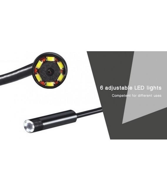 USB Inspektioncamera IP67 2meter vattentät för Android Windows