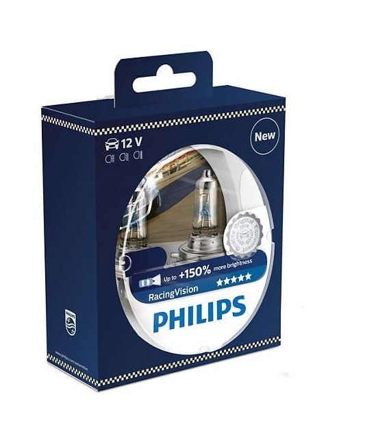 PHILIPS H4 12V 55W Racing Vision