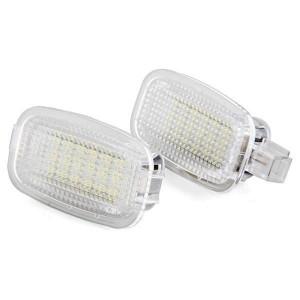 LED Courtesy lampor till Mercedes