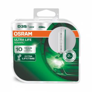 OSRAM ORIGINAL XENARC ULTRA LIFE D3S 2-pack