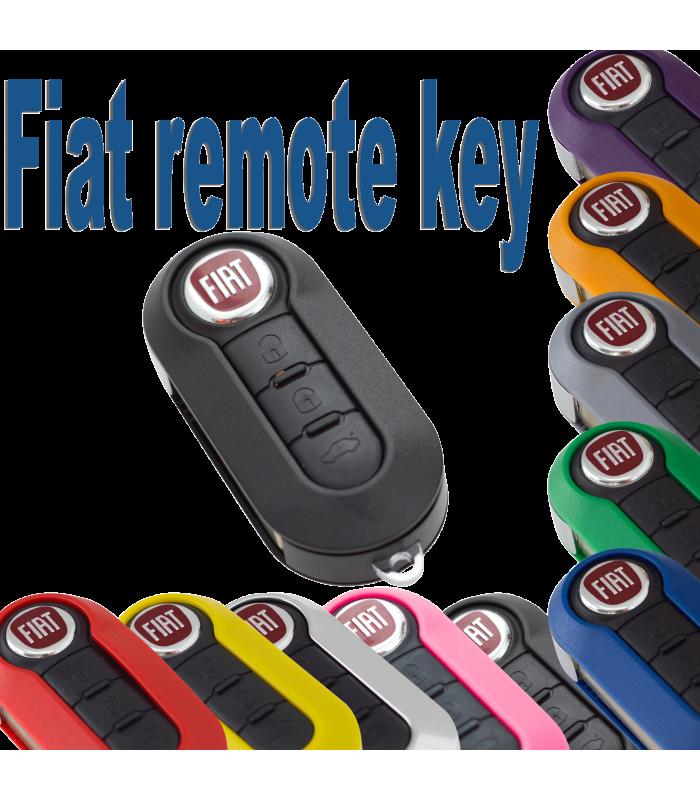 Nyckelskal Larmdosa Till Fiat 500