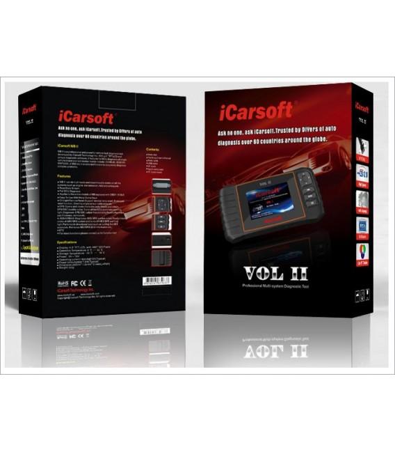 iCarsoft VOL II för Volvo / Saab