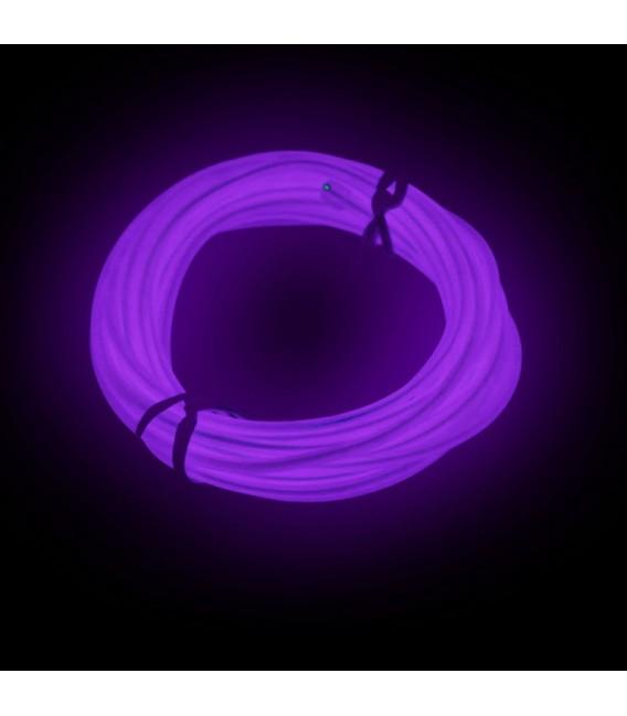 Batteridriven Neon LED slinga för Disco / Bilen / hemdekoration - 3meter