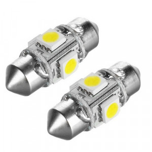 Led Spollampa - Festoon SV8,5 C5W 4 st 5050 smd 31 mm