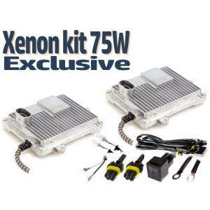 Xenon hid kit - Xenonljus Exclusive slim 75W