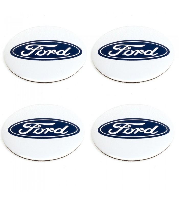 Ford Silver Hjulnav Emblem Till Centrumk 229 Por