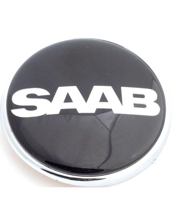 Emblem Saab Svart Bak