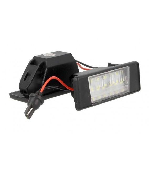 Skyltbelysning - Nummerskyltsbelysning  Nissan X-TRAIL QASHQAI MARCH